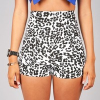 Ink Spots High Waisted Shorts | Trendy Shorts at Pink Ice