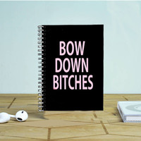 Bow Down Beyonce Photo Notebook Auroid