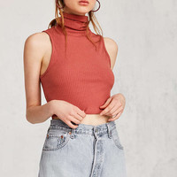 Kimchi Blue Turtleneck Cropped Tank Top - Urban Outfitters