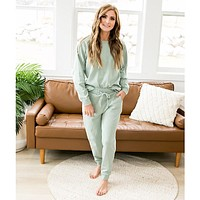 Sage Green Lounge Set