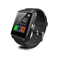 Bluetooth Smartwatch U8 U Smart Watch Wrist Watches for iPhone IOS 7 5S Samsung S4 S5 Note 2 3 HTC Android Phone Smartphone