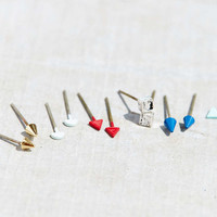 Dots + Spikes Earring Set - Urban Outfitters