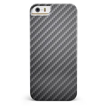 Carbon Fiber Texture iPhone 5/5s or SE INK-Fuzed Case
