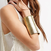 Oversized Etched Arm Cuff
