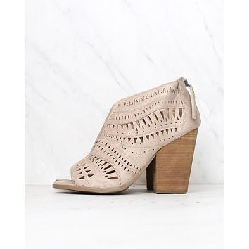 Not Rated - Groove Thang Bootie in Cream
