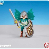Playmobil Green Dragon Knights Leader