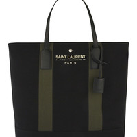 Branded canvas tote