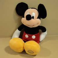 Disney Store Mickey Mouse Plush 13 Inch -- Used