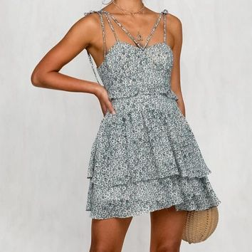 Paisley Tart Tied Dress