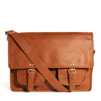 ASOS Satchel With Double Pocket at asos.com