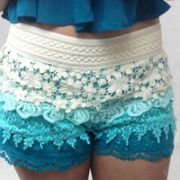 Junky Trunk Boutique. JTB Laced-Out Shorts