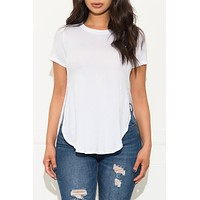 Fall In Line Top White