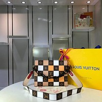 new lv louis vuitton womens leather shoulder bag lv tote lv handbag lv shopping bag lv messenger bags 566