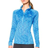 Under Armour Women's Tech Disruptive Space Dye Half Zip Long Sleeve Shirt | DICK'S Sporting Goods