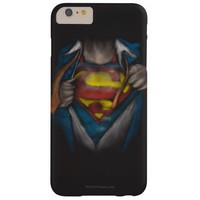 Superman Chest Sketch 2 Barely There iPhone 6 Plus Case