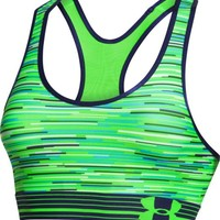 Under Armour Women's Mid Printed Sports Bra