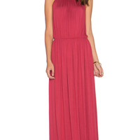 Evelyn Maxi Dress in Wine