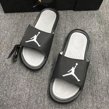 """Air Jordan"" Summer Men Casual Multicolor Comfortable Slippers Beach Sandals Shoes"
