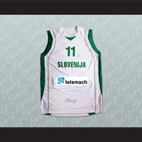 Slovenija Goran Dragic 11 Basketball Jersey Any Player or Number Stitch Sewn