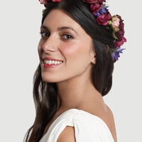 THE SCARLET O'HARA FLORAL HALO