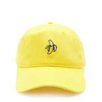 Men Banana Graphic Baseball Cap