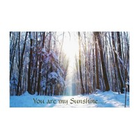 You Are My Sunshine--Winter Print