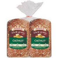 Arnold oatnut whole grain bread - 2 loaves / 3 pounds total