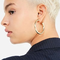 Chunky Hollow Hoop Earring | Urban Outfitters