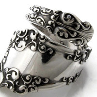 Spoon Ring, Size 6 to 15 Berkshire Wrapped