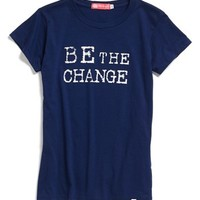 Me to We Style 'Be the Change' Tee (Juniors) | Nordstrom