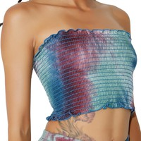 Special Recipe Tie-Dye Tube Top