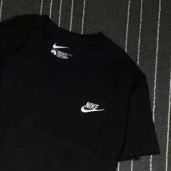 Nike Men And Women Classic Tee Shirt Top Black