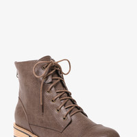 Lace-Up Ankle Boots (Wide Width)