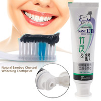 Bamboo Charcoal Toothpaste Anti-halitosis Healthy Teeth Whitening Remove Smoke Stains Oral Hygiene Care Balck Toothpaste Hot