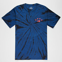 FOURSTAR Athletic Tie Dye Mens T-Shirt   Graphic Tees