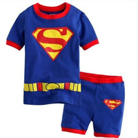 Kids Boys Girls Baby Clothing Products For Children superman set= 4445438212