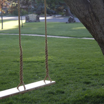Wooden Swing for Two