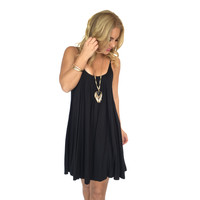 Melody Jersey Dress In Black