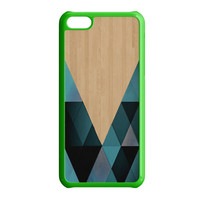 wooden geometric iPhone 5C Case