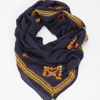 Urban Outfitters - Aish Embroidered Scarf