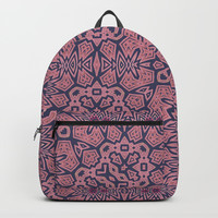 Ethnic Geo Backpacks by ALLY COXON
