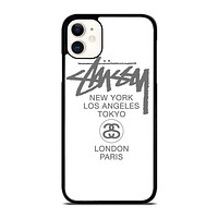 STUSSY LOGO iPhone 11 Case