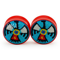 American Indian Thunderbird Plugs (2mm-27mm)