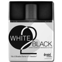 Devoted Creations White 2 Black Supre Advanced Bronzer Tanning Lotion
