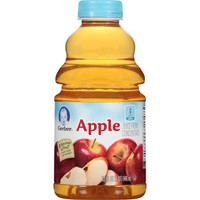 Gerber Juices Apple Juice, 32 fl oz (Pack of 2) - Walmart.com