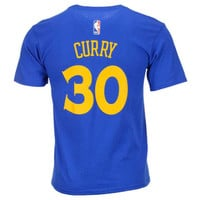 Golden State Warriors NBA Youth Name And Number T-Shirt - Stephen Curry