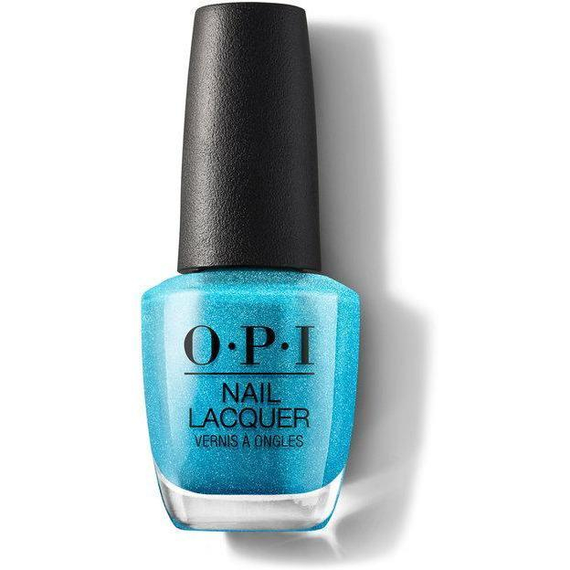Image of OPI Nail Lacquer - Teal the Cows Come Home 0.5 oz - #NLB54