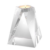 Crystal Glass Candle Holder | Eichholtz Liaison