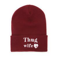 Young & Reckless Thug Wife Beanie at PacSun.com