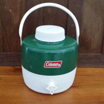 Vintage Coleman Drink Cooler With Spout Water Jug Water Cooler